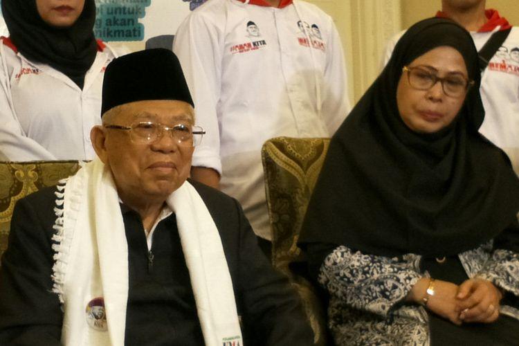 Maruf Amin bantah dirinya sakit di kediamannya