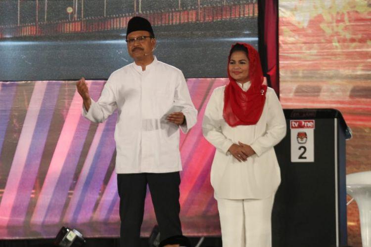 Syaifullah Yusuf dan Puti Guntur Soekarno. Gambar diambil pada 24 Juni 2018
