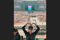 Perjuangan Luna Maya Nonton Konser BTS di Bangkok