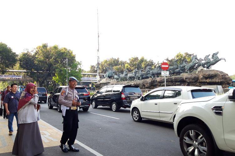 Jalan Medan Merdeka Barat kembali dibuka, Selasa (25/6/2019)