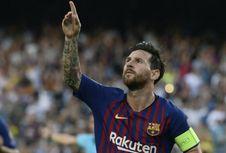 Lionel Messi Tetap Rendah Hati meski Jadi Pemain Hebat