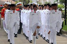 Tim Bangsa Bertugas Turunkan Bendera Merah Putih di Istana, Ini Profilnya...