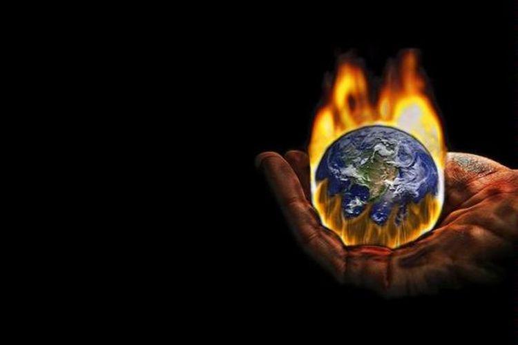 Selain Lelehkan Es Efek Rumah Kaca Picu Erupsi Gunung Api Kompas Com