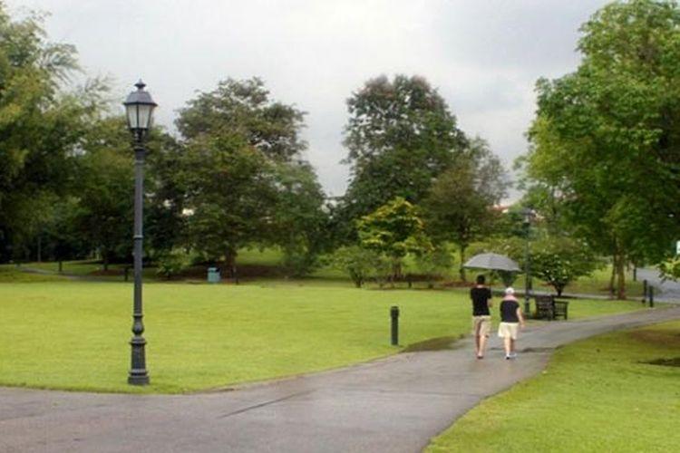 Singapore Botanic Garden, ruang hijau di tengah kota Singapura.