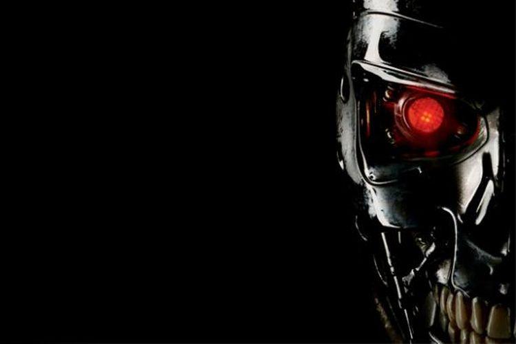 Ilustrasi robot yang bisa belajar di film Terminator.
