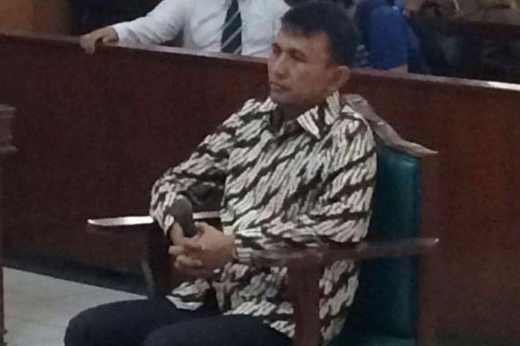 Mantan Gubernur Sumatera Utara Gatot Pujo Nugroho kembali menjadi terdakwa di Pengadilan Tipikor pada PN Medan, Senin (1/8/2016).
