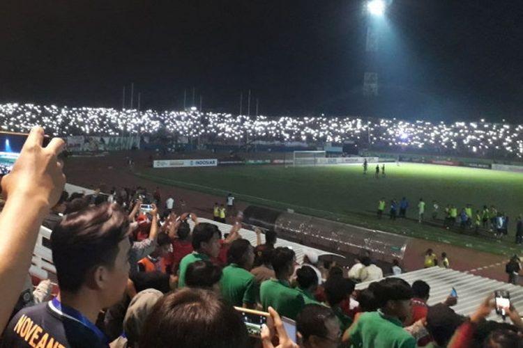 Kalah Adu Penalti Tak Ada Hubungan dengan Stadion Mati Lampu