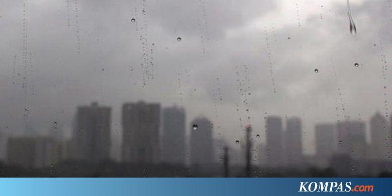 BMKG: Hujan Guyur Bogor, Depok, Tangerang, dan Bekasi Siang Ini - Kompas.com