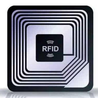 Ilustrasi chip RFID