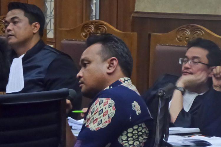 Mantan Direktur PT Murakabi Sejahtera, Irvanto Hendra Pambudi, di Pengadilan Tipikor Jakarta, Jumat (3/11/2017).