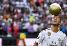 Kehadiran Hazard Bisa Bikin Fans Real Madrid Tidur Nyenyak