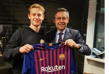 Bintang Muda Belanda Rekrutan Barcelona Sempat Tertarik ke PSG