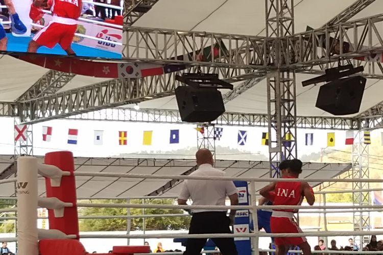 Pertandingan Piala Presiden 2019 ke-23 yang digelar di Labuan Bajo Manggarai Barat, Pulau Flores, Nusa Tenggara Timur ( NTT).