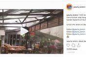 Angin Terbangkan Atap Gedung di Jakarta Selatan, Ini Penjelasan BMKG