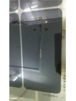 Bocoran Nokia dengan lima lensa kamera di belakang