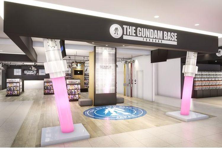 Gundam Base di Fukuoka, Jepang.