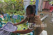 Bali Dilanda Banjir, Rapor Siswa hingga Komputer Terendam Air