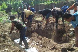 Tiga Makam untuk 7 Jenazah Terduga Teroris Bom Surabaya