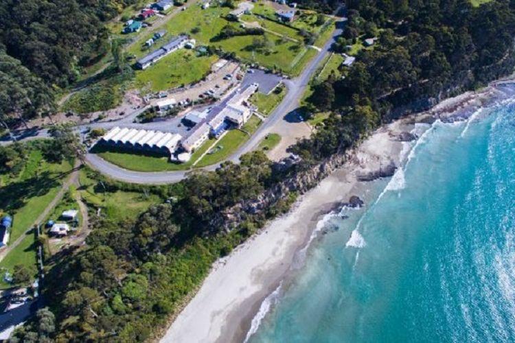 Hotel Lufra di Pirates Bay, Eaglehawk Neck, Tasmania, Australia