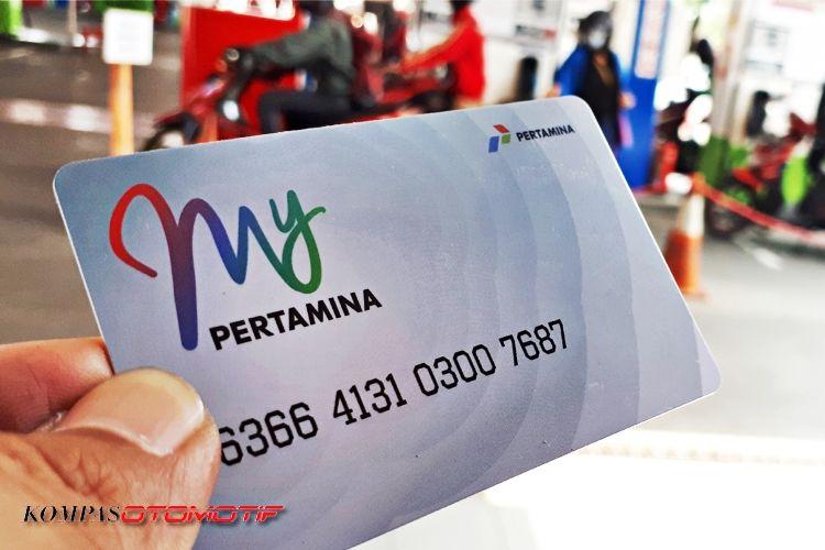 Kartu pembayaran elektronik MyPertamina