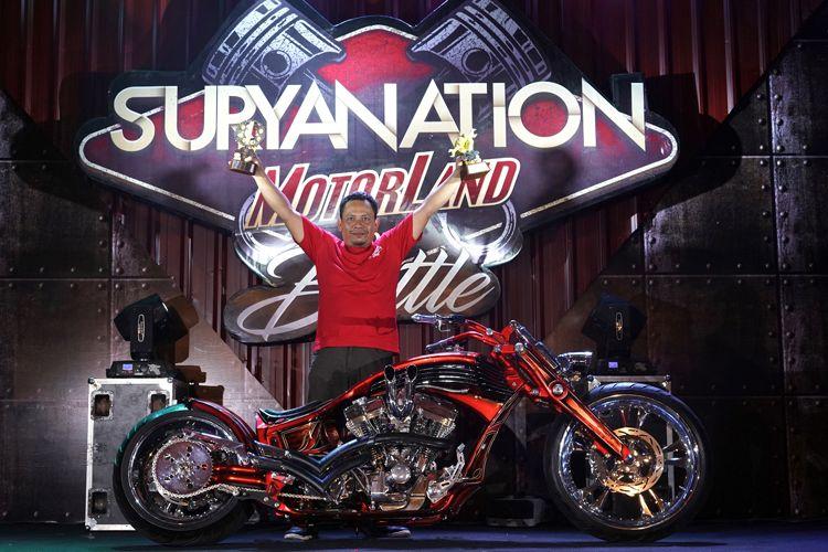 HD American Pro Steer jadi juara di Semarang