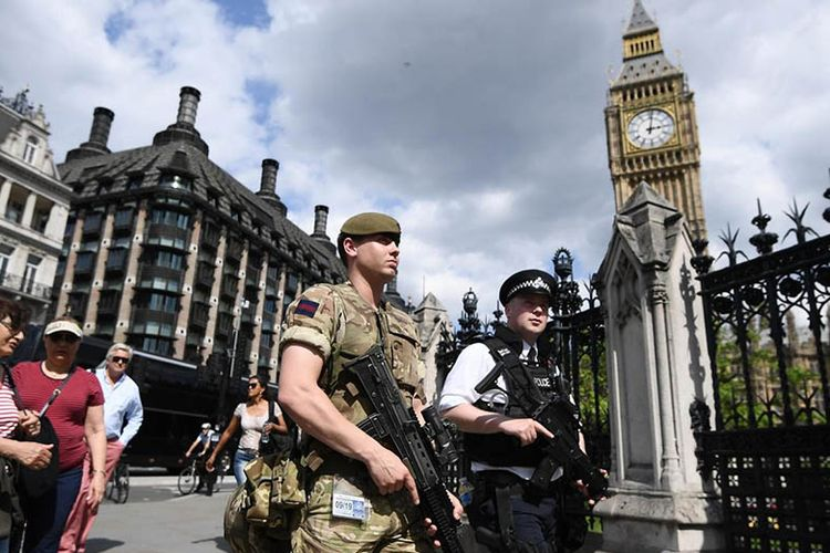 Menakutkan! Begini Ketatnya Pengamanan Royal Wedding Prince Harry-Meghan Markle