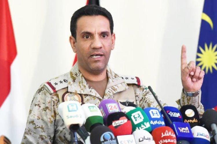 Juru Bicara Koalisi Arab Saudi, Kolonel Turki Al-Maliki.