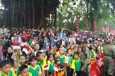 Pekik Indonesia Sambut Asian Games Membahana di Kota Solo