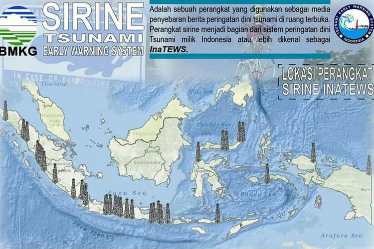 18 Provinsi Rawan Tsunami di Indonesia Telah Dipasang Sirene