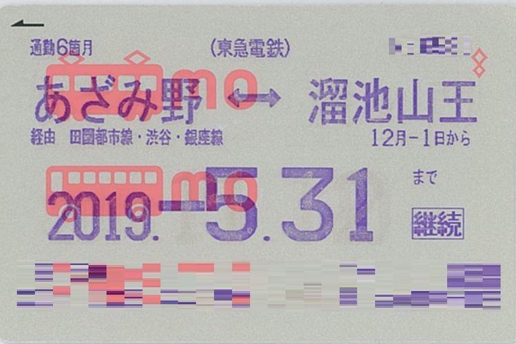 Teikiken (sejenis tiket abonemen bulanan) dengan harga lebih murah yang dikeluarkan oleh berbagai perusahaan kereta Jepang.
