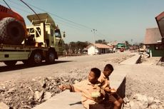 4 Fakta di Balik Proyek Jalan Yogya-Wonosari, Belajar Terganggu hingga Terserang Batuk