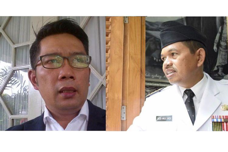 Ridwan Kamil dan Dedi Mulyadi
