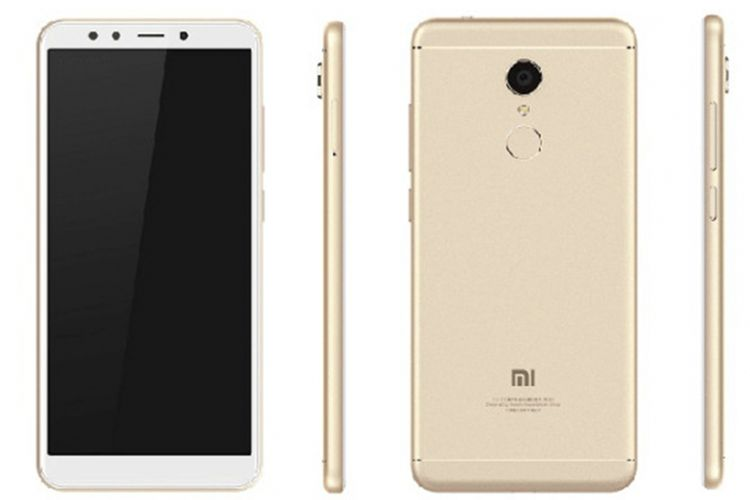 Bocoran foto press render Xiaomi Redmi 5.