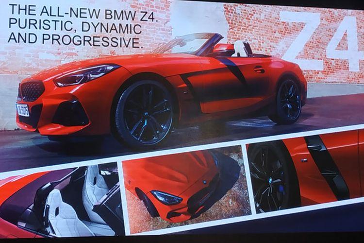 BMW Z4 siap mengaspal di Indonesia