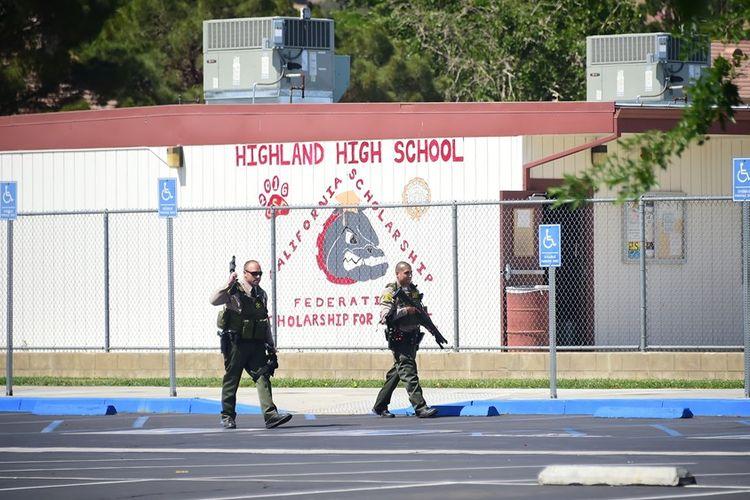Penembakan di Sekolah Los Angeles, Remaja 14 Tahun Ditahan