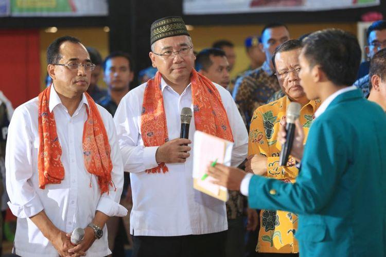 Menteri Desa, Pembangunan Daerah Tertinggal, dan Transmigrasi (Mendes PDTT) Eko Putro Sandjojo mengajak seluruh masyarakat Bengkulu untuk bersama-sama membangun desa agar lebih maju dan berkembang.