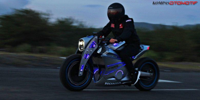 Tes jalan CBR250RR Honda Dream Ride Project 2017