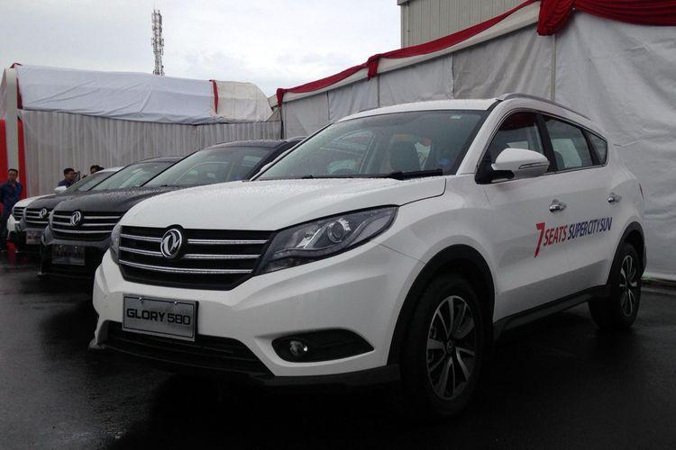 Suv terbaru China, Sokon Glory 580, punya mesin 1.5 L turbo, sama seperti Honda CR-V Turbo.