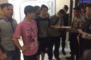 4 Tersangka dan Barang Bukti 1,6 Ton Sabu Diterbangkan ke Jakarta