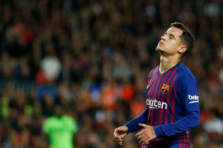 Philippe Coutinho kesulitan menenemukan bentuk permanan terbaiknya di Barcelona.