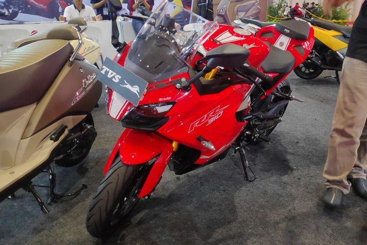 TVS Apache RR 310 ditawarkan di ajang Jakarta Fair Kemayoran