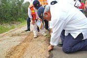 Basuki Minta 58 KM Jalan Rusak di Perbatasan Papua Beres 4 Bulan