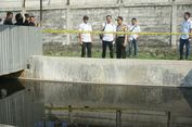 Diduga Cemari Anak Sungai Cit   arum, Pabrik Batik Disegel Polisi