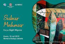 Gigih Wiyono Bawa Kesuburan dan Kemakmuran ke Bentara Budaya Jakarta