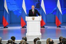 Disiarkan di Televisi, Pidato Tahunan Putin Sepi Peminat