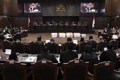Hakim MK Pertanyakan Bukti 17,5 Juta Pemilih dalam DPT yang Tidak Ada