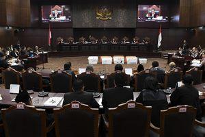 Hakim MK Pertanyakan Bukti 17,5 Juta DPT yang Tidak Ada