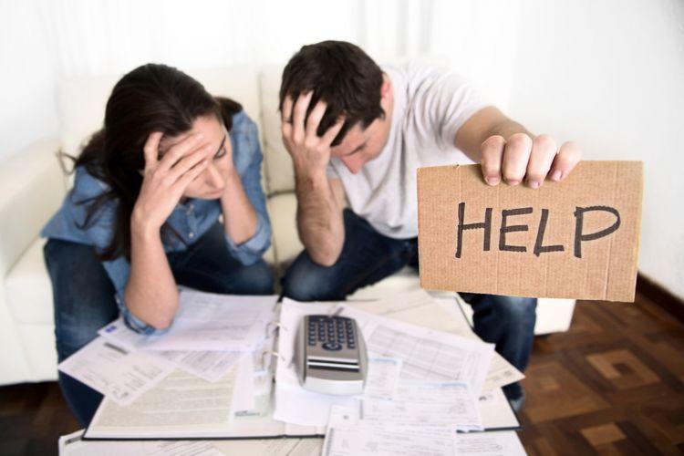 Ilustrasi keuangan rumah tangga