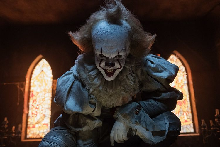 Pennywise, karakter horor dalam film IT