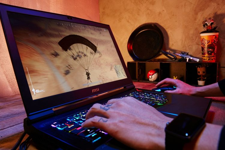 MSI GT75 laptop pertama dengan prosesor Intel Core i9